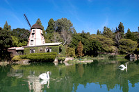 Lake Shrine at Self-Realization Fellowship, Pacific Palisades, CA