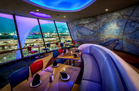 LAX Airport: Theme Building - Interior design by Ed Sotto and Ellen Guevara for Walt Disney Imagineering